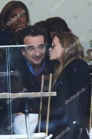 Stock Image of Mary-Kate Olsen, Olivier Sarkozy