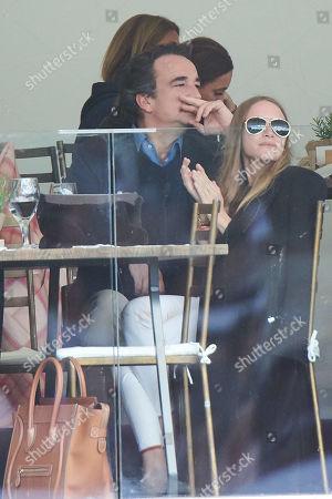 Stock Photo of Mary-Kate Olsen, Olivier Sarkozy