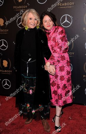 Liz Garbus, Sheila Nevins. Sheila Nevins, left, and Liz Garbus attend the 78th annual Peabody Awards red carpet at Cipriani Wall Street, in New York