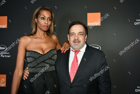 Editorial photo of Orange party, 72nd Cannes Film Festival, France - 18 May 2019