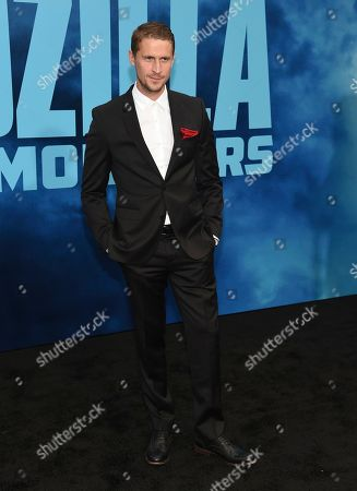 "Jonathan Howard arrives at the Los Angeles premiere of ""Godzilla: King of The Monsters"", at the TCL Chinese Theatre in Los Angeles"