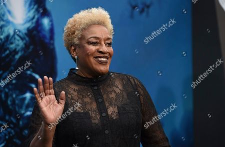 """CCH Pounder arrives at the Los Angeles premiere of """"Godzilla: King of The Monsters"""", at the TCL Chinese Theatre"""