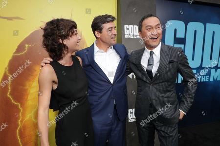 Sydney Chandler, Kyle Chandler, Ken Watanabe