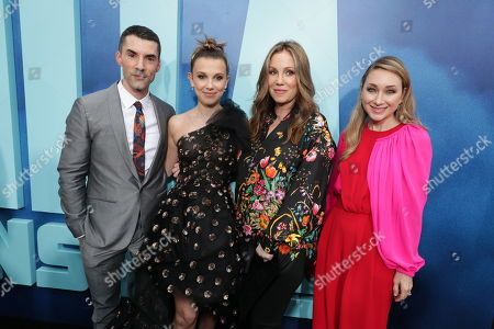 Alex Garcia, Producer, Millie Bobby Brown, Mary Parent, Producer, Blair Rich, President, Worldwide Marketing, Warner Bros. Pictures Group and Warner Bros. Home Entertainment,