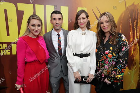 Blair Rich, President, Worldwide Marketing, Warner Bros. Pictures Group and Warner Bros. Home Entertainment, Alex Garcia, Producer, Vera Farmiga, Mary Parent, Producer,