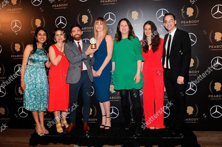 Editorial photo of 78th Annual Peabody Awards - Press Room, New York, USA - 18 May 2019