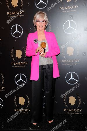 Rita Moreno attends the 78th annual Peabody Awards Press Room at Cipriani Wall Street, in New York