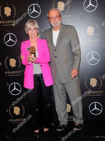 Rita Moreno; Tom Fontana. Rita Moreno and Tom Fontana attend the 78th annual Peabody Awards Press Room at Cipriani Wall Street, in New York