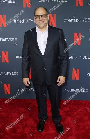 "Howard J. Morris arrives at the ""Grace and Frankie"" FYC event at the Netflix FYSEE at the Raleigh Studios, in Los Angeles"