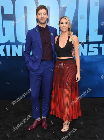 Stock Picture of Thomas Middleditch and Mollie Gates