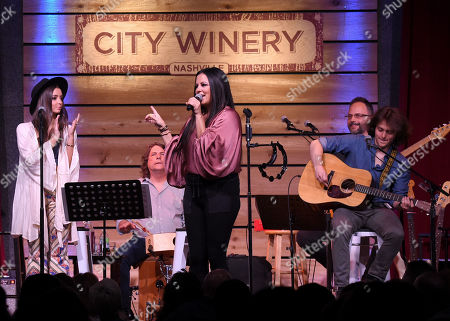 Sara Evans and The Barker Family Band in concert at City Winery, Nashville
