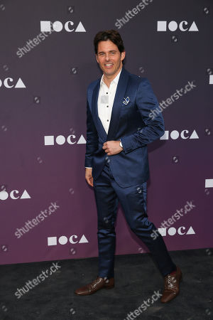 James Marsden attends the 2019 MOCA benefit at the Geffen Contemporary on in Los Angeles