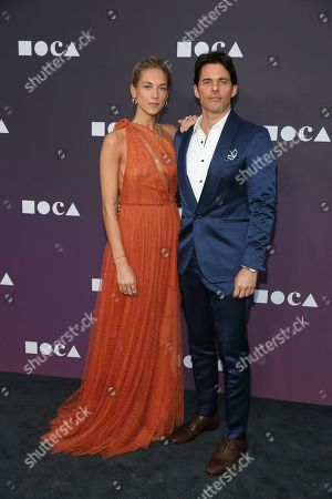 Edei, Edei, James Marsden. Edei and James Marsden attend the 2019 MOCA benefit at the Geffen Contemporary on in Los Angeles