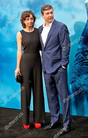 Kyle Chandler (R) arrives with his daughter Sydney Chandler for the premiere of Warner Bros 'Godzilla: King of The Monsters' at the TCL Chinese Theatre IMAX in Hollywood, Los Angeles, California, USA, 18 May 2019. The movie opens in US theaters on 31 May 2019.