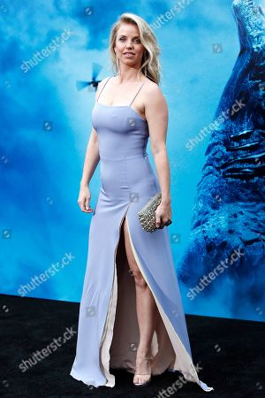 Stock Image of Kelli Garner arrives for the premiere of Warner Bros 'Godzilla: King of The Monsters' at the TCL Chinese Theatre IMAX in Hollywood, Los Angeles, California, USA, 18 May 2019. The movie opens in US theaters on 31 May 2019.