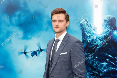 Hartley Sawyer arrives for the premiere of Warner Bros 'Godzilla: King of The Monsters' at the TCL Chinese Theatre IMAX in Hollywood, Los Angeles, California, USA, 18 May 2019. The movie opens in US theaters on 31 May 2019.