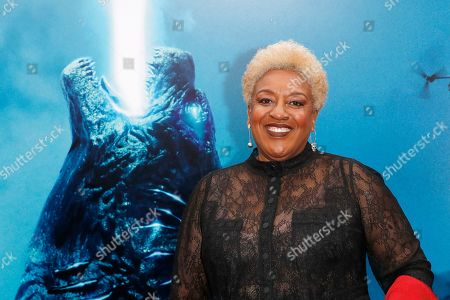 CCH Pounder arrives for the premiere of Warner Bros 'Godzilla: King of The Monsters' at the TCL Chinese Theatre IMAX in Hollywood, Los Angeles, California, USA, 18 May 2019. The movie opens in US theaters on 31 May 2019.
