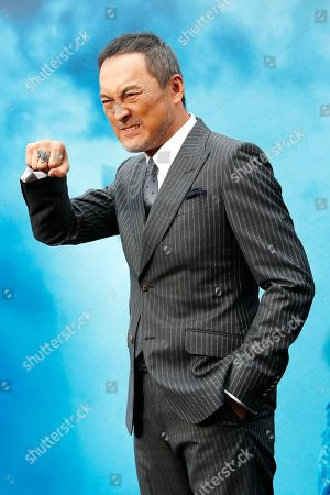 Ken Watanabe arrives for the premiere of Warner Bros 'Godzilla: King of The Monsters' at the TCL Chinese Theatre IMAX in Hollywood, Los Angeles, California, USA, 18 May 2019. The movie opens in US theaters on 31 May 2019.