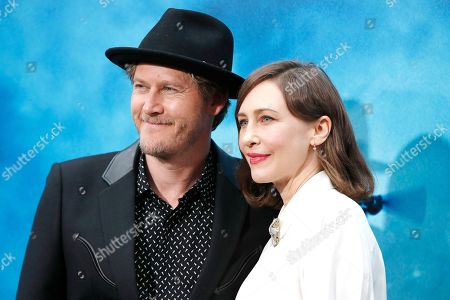 Vera Farmiga (R) arrives with her husband US musician Renn Hawkey for the premiere of Warner Bros 'Godzilla: King of The Monsters' at the TCL Chinese Theatre IMAX in Hollywood, Los Angeles, California, USA, 18 May 2019. The movie opens in US theaters on 31 May 2019.