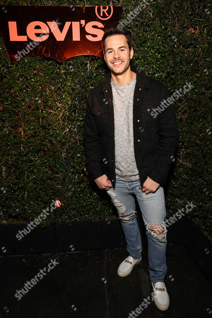 Stock Image of Jayson Blair seen at the Levi's 501 Day Hosted by Hailey Bieber and Heron Preston, in West Hollywood, Calif