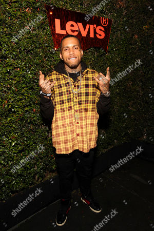 Kid Ink seen at the Levi's 501 Day Hosted by Hailey Bieber and Heron Preston, in West Hollywood, Calif