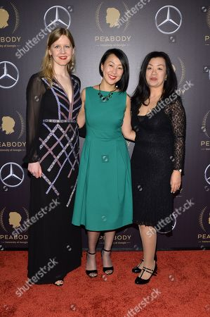 Justine Nagan, Tiffany Hsiung, Anita Lee