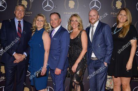 Stock Photo of David Lubbers, Paula Lavigne, John Barr, Nicole Noren, Dan Murphy, Tisha Thompson