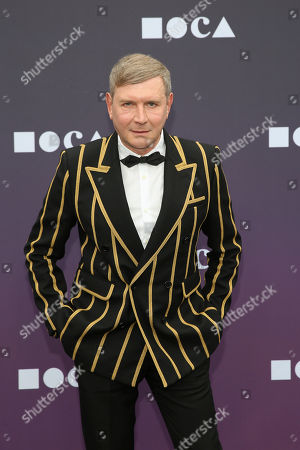 Eugene Sadovoy attends the 2019 MOCA benefit at the Geffen Contemporary on in Los Angeles