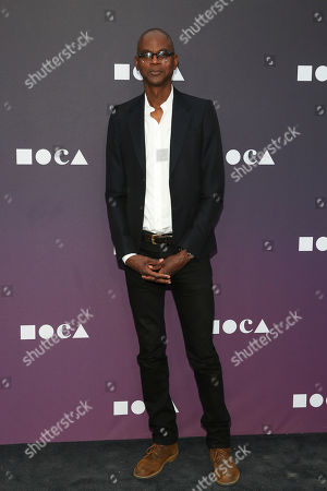 Mark Bradford attends the 2019 MOCA benefit at the Geffen Contemporary on in Los Angeles