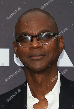 Stock Image of Mark Bradford attends the 2019 MOCA benefit at the Geffen Contemporary on in Los Angeles