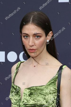 Caroline Polachek attends the 2019 MOCA benefit at the Geffen Contemporary on in Los Angeles