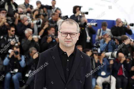 Corneliu Porumboiu poses during the photocall for 'La Gomera' (The Whistlers) at the 72nd annual Cannes Film Festival, in Cannes, France, 19 May 2019. The movie is presented in the Official Competition of the festival which runs from 14 to 25 May.