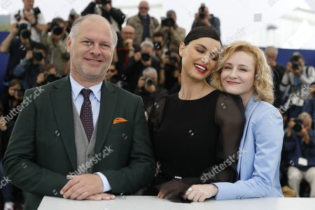 Romanian actor Vlad Ivanov, Romanian actress Catrinel Marlon and Romanian actress Rodica Lazar pose during the photocall for 'La Gomera' (The Whistlers) at the 72nd annual Cannes Film Festival, in Cannes, France, 19 May 2019. The movie is presented in the Official Competition of the festival which runs from 14 to 25 May.
