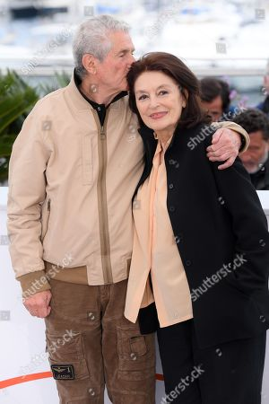 Stock Image of Claude Lelouch and Anouk Aimee