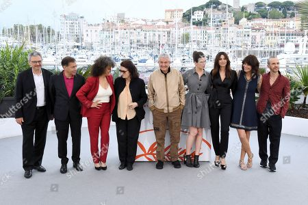 Victor Hadida, Antoine Sire, Souad Amidou, Anouk Aimee, Claude Lelouch, Tess Lauvergne, Monica Bellucci, Marianne Denicourt and Calogero Maurici