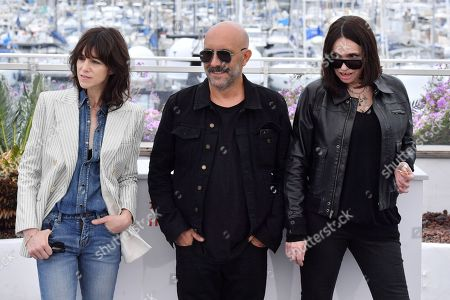 Charlotte Gainsbourg, Gaspar Noe and Beatrice Dalle