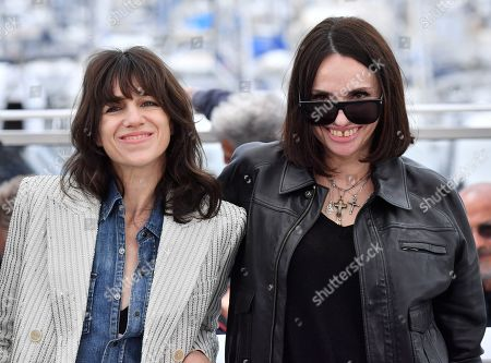 Charlotte Gainsbourg and Beatrice Dalle