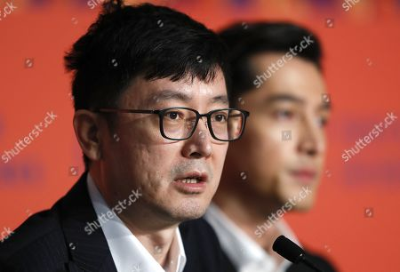Stock Picture of Diao Yinan attends the press conference for â??Nan Fang Che Zhan De Ju Hui' (The Wild Goose Lake) during the 72nd annual Cannes Film Festival, in Cannes, France, 19 May 2019. The movie is presented in the Official Competition of the festival which runs from 14 to 25 May.