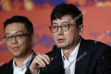 Diao Yinan attends the press conference for â??Nan Fang Che Zhan De Ju Hui' (The Wild Goose Lake) during the 72nd annual Cannes Film Festival, in Cannes, France, 19 May 2019. The movie is presented in the Official Competition of the festival which runs from 14 to 25 May.