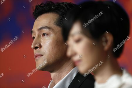 Hu Ge attends the press conference for â??Nan Fang Che Zhan De Ju Hui' (The Wild Goose Lake) during the 72nd annual Cannes Film Festival, in Cannes, France, 19 May 2019. The movie is presented in the Official Competition of the festival which runs from 14 to 25 May.