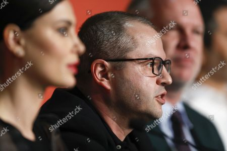 Corneliu Porumboiu attends the press conference for 'La Gomera' (The Whistlers) during the 72nd annual Cannes Film Festival, in Cannes, France, 19 May 2019. The movie is presented in the Official Competition of the festival which runs from 14 to 25 May.
