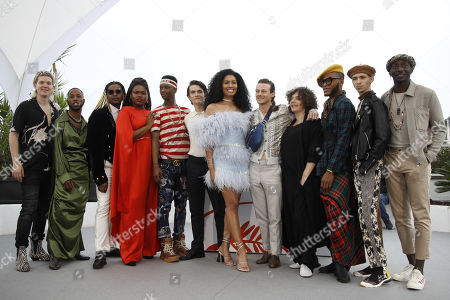(6-L) US actor Fionn Whitehead, US actress Leyna Bloom, US actor McCaul Lombardi, US director Danielle Lessovitz and cast pose during the photocall for 'Port Authority' at the 72nd annual Cannes Film Festival, in Cannes, France, 19 May 2019. The movie is presented in the section Un Certain Regard of the festival which runs from 14 to 25 May.