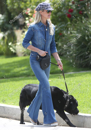 Editorial picture of Laeticia Hallyday out and about, Los Angeles, USA - 18 May 2019