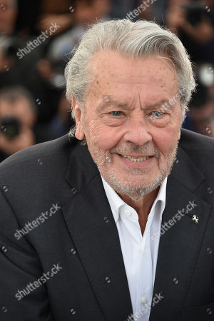 Alain Delon receives an honourary Palme d'or, 72nd Cannes Film Festival
