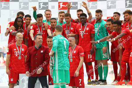 Editorial image of Soccer Bundesliga, Munich, Germany - 18 May 2019