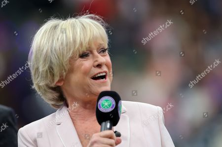 BBC TV Sports presenter Sue Barker