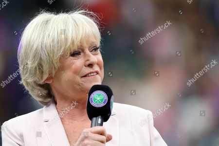 Stock Picture of BBC TV Sports presenter Sue Barker