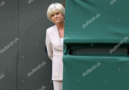 BBC TV Wimbledon Tennis presenter Sue Barker