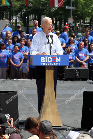 Joe Biden US Presidential Election campaigning, New York