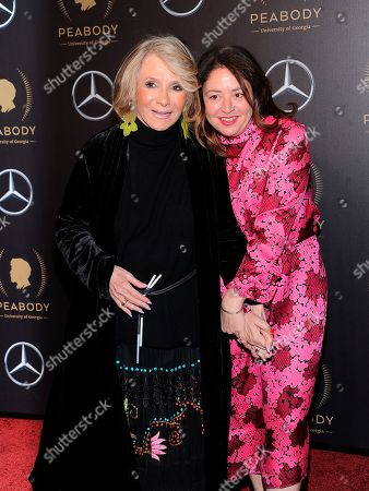 Liz Garbus, Sheila Nevins. Liz Garbus and Sheila Nevins attend the 78th annual Peabody Awards at Cipriani Wall Street, in New York